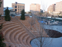 Amphitheatre and Whitehead Institute