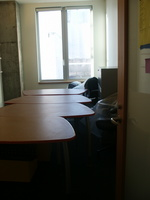 Desks in G728.