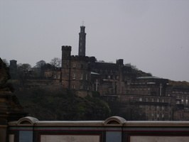 Not a castle: just Calton Hill