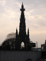 Princes Mall and Scout Monument