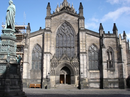 Another St. Giles' facade