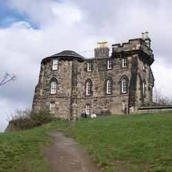 Calton Hill and company, April 7