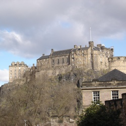 Edinburgh Castle, April 8