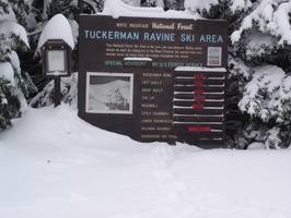Avalanche Advisory for Tuckerman Ravine