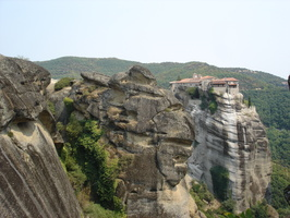 Rock like a face, and Megalou Meteora