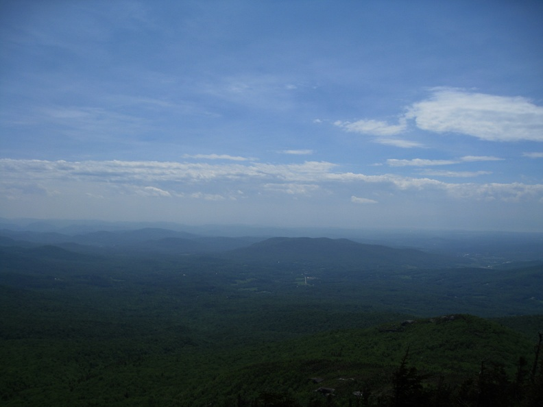 First panoramic view (3200')