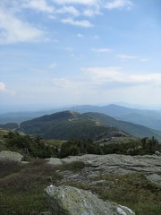 Mansfield summit ridge