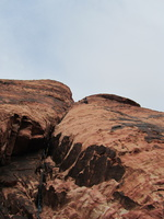 Off the plane and onto Calico Hills, December 26