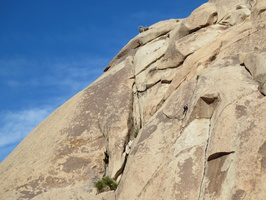 0105 climber on popes crack