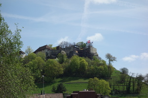 01367 scaffolding on castle