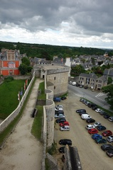 04709 dinan castle donjon and parking lot