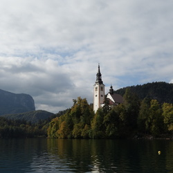 Bled: Island and Castle, October 4