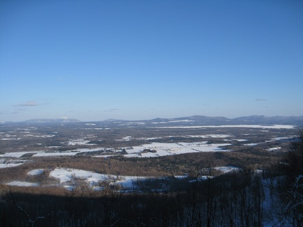 View from Bromont summit.