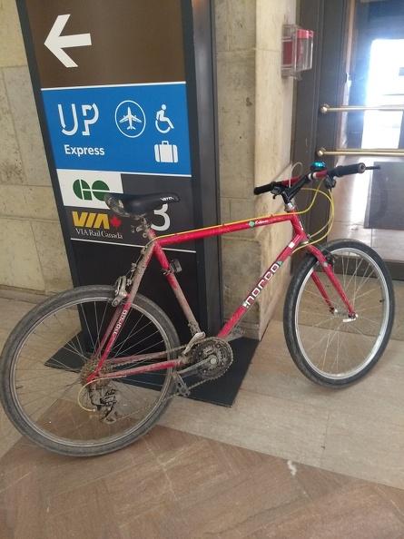 Bike, not so clean anymore